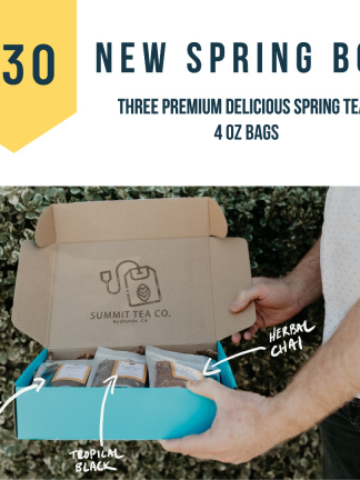 30 Dollar Spring Teas of The Season Box