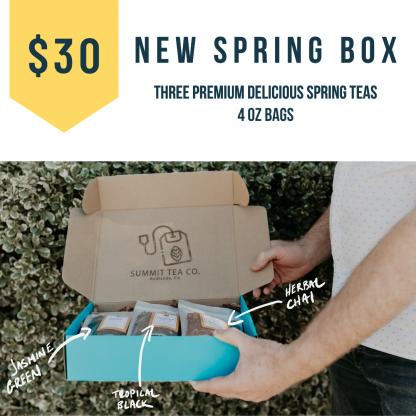 30 Dollar Spring Teas of The Season Box