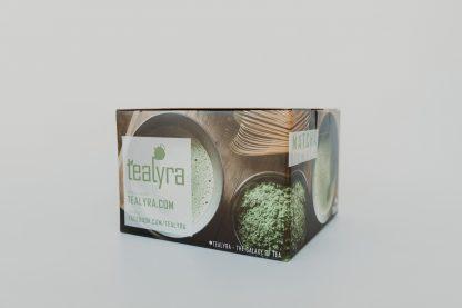 ceramic green matcha bowl box